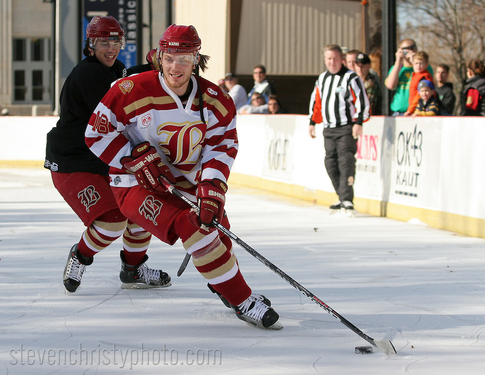 OKC Blazers Outdoor Practice.December 11, 2006