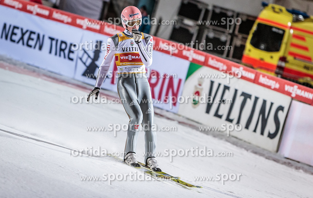02.12.2016, Vogtland Arena, Klingenthal, GER, FIS Weltcup Ski Sprung, Klingenthal, im Bild Severin Freund (GER) // Severin Freund of Germany during the mens FIS Skijumping World Cup at the Vogtland Arena in Klingenthal, Germany on 2016/12/02. EXPA Pictures © 2016, PhotoCredit: EXPA/ JFK