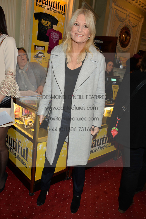 GABY ROSLIN at Beautiful - The Carole King Musical 1st Birthday celebration evening at The Aldwych Theatre, London on 23rd February 2016.