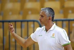 Igor Kokoskov, head coach of Slovenia during friendly basketball match between National teams of Slovenia and Belgium at day 2 of Adecco Cup 2016, on August 6 in Zlatorog, Celje, Slovenia. Photo by Matic Klansek Velej / Sportida