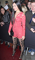 Jessie J, Elle Style Awards 2014, One Embankment, London UK, 18 February 2014, Photo by Brett D. Cove