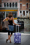 Waiting in Venice