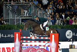 De Miranda Doda, (BRA), AD Living The Dream, FEI President<br /> Logines Challenge Cup<br /> Furusiyya FEI Nations Cup Jumping Final - Barcelona 2015<br /> © Dirk Caremans<br /> 25/09/15