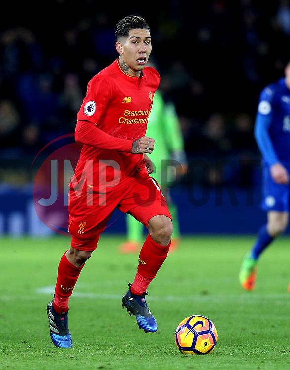Roberto Firmino of Liverpool - Mandatory by-line: Robbie Stephenson/JMP - 27/02/2017 - FOOTBALL - King Power Stadium - Leicester, England - Leicester City v Liverpool - Premier League