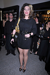 IMMODESY BLAIZE at a party to celebrate the opening of the new Whitechapel Gallery, 77-82 Whitechapel High Street, London E1 on 2nd April 2009.