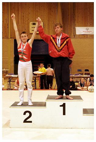 Special Olympics (Gymnastics).Sun 28-5-2006.Birmingham.Afternoon presentations