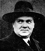 Paul-Henri Spaak (1899-1972) Belgian socialist,  lawyer and international statesman. Prime Minister 1838-1939, March 1946, 1947-1949. Foreign Minister 1939-1949.