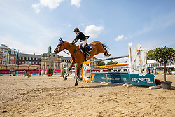 FOUTRIER Guillaume (FRA), TCHIN DE LA TOUR<br /> Münster - Turnier der Sieger 2019<br /> Preis des EINRICHTUNGSHAUS OSTERMANN, WITTEN<br /> CSI4* - Int. Jumping competition  (1.45 m) - <br /> 1. Qualifikation Mittlere Tour<br /> Medium Tour<br /> 02. August 2019<br /> © www.sportfotos-lafrentz.de/Stefan Lafrentz