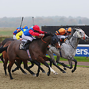 Four Winds and Ross Atkinson winning the 1.00 race