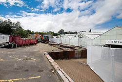 Progress update two weeks into building works at Almondsbury Garden Centre - Photo mandatory by-line: Rogan Thomson/JMP - 07966 386802 - 20/07/2015 - PR - Bristol, England - Almondsbury Garden Centre.