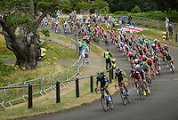 LONDON UK 31ST JULY 2016:  Richmond Park. The Prudential RideLondon-Surrey Classic  in London 31st July 2016<br /> <br /> Photo: Jon Buckle/Silverhub for Prudential RideLondon<br /> <br /> Prudential RideLondon is the world's greatest festival of cycling, involving 95,000+ cyclists – from Olympic champions to a free family fun ride - riding in events over closed roads in London and Surrey over the weekend of 29th to 31st July 2016. <br /> <br /> See www.PrudentialRideLondon.co.uk for more.<br /> <br /> For further information: media@londonmarathonevents.co.uk