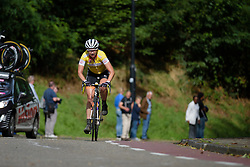Roxane Knetemann (Rabo Liv) attacks the Cauberg as she looks to defend the mountain jersey at the 119 km Stage 6 of the Boels Ladies Tour 2016 on 4th September 2016 from Bunde to Valkenburg, Netherlands. (Photo by Sean Robinson/Velofocus).