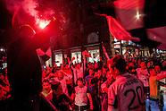 Il Palermo si salva ed esplode la gioia dei tifosi rosanero