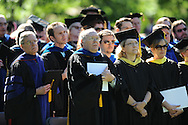 University of Mississippi graduation ceremonies in the Grove on campus on Saturday, May 8, 2010.