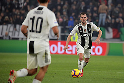 December 7, 2018 - Turin, Turin, Italy - Miralem Pjanic #5 of Juventus FC in action during the serie A match between Juventus FC and FC Internazionale Milano at Allianz Stadium on December 07, 2018 in Turin, Italy. (Credit Image: © Giuseppe Cottini/NurPhoto via ZUMA Press)