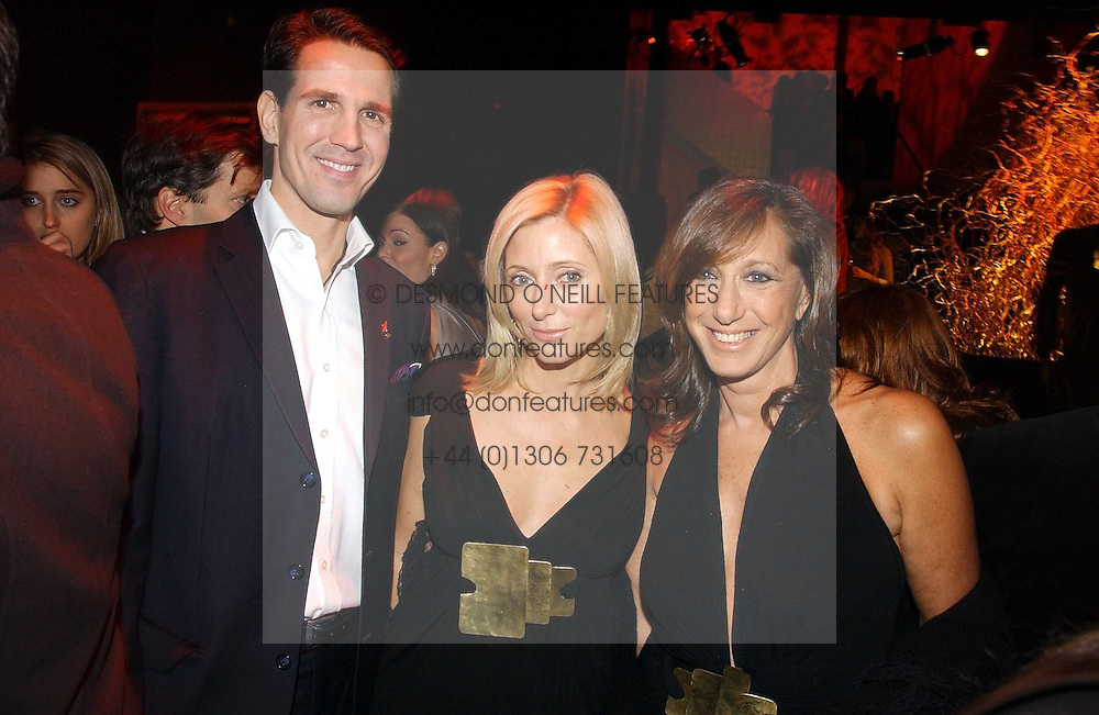 Left to right, CROWN PRINCE PAVLOS and PRINCESS MARIE CHANTAL OF GREECE and DONNA KARAN at the launch party for Donna Karan's new fragrance Gold held at the Donna Karan store, 19 New Bond Street, London on 16th November 2006.<br />
