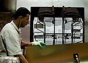 Sao Paulo_SP, Brasil...Unidade Prada da CSN em Santo Amaro, Sao Paulo...CNS industry in Santo Amaro, Sao Paulo...Foto:  LEO DRUMOND / NITRO
