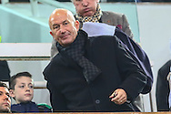 Tony Pullis, recently appointed the new Manager of West Bromwich Albion in the stand before the Barclays Premier League match at the Boleyn Ground, London<br /> Picture by David Horn/Focus Images Ltd +44 7545 970036<br /> 01/01/2015