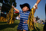 The Vanderbilt University Employee Tailgate event is football fun for the whole family on Sept. 16, 2017. Thousands of employees and their families enjoy food, music and games before the Commodores victory over Kansas State on Saturday night.