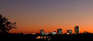 Skyline at Twilight - Downtown Greenville, SC