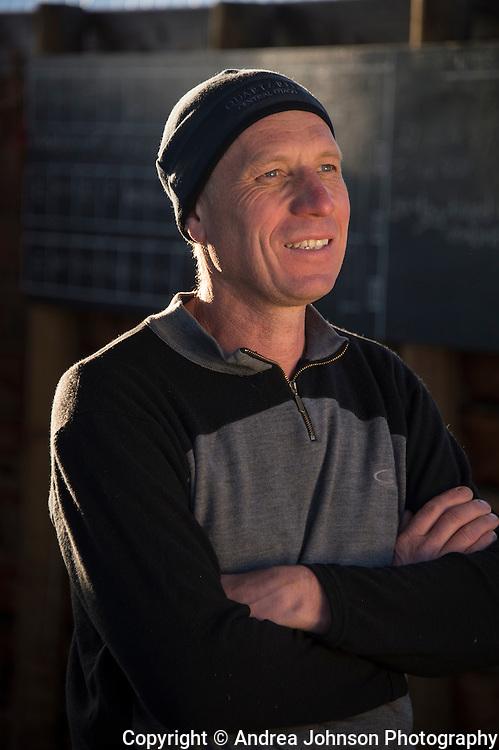 Rudi Bauer, winemaker/ viticulturalist / GM Quartz Reef, Central Otago, New Zealand