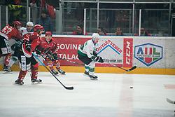 KUJAVEC Anej during Alps League Ice Hockey match between HK SZ Olimpija and HDD SIJ Jesenice, on February 12, 2019 in Ice Arena Podmezakla, Jesenice, Slovenia. Photo by Peter Podobnik / Sportida