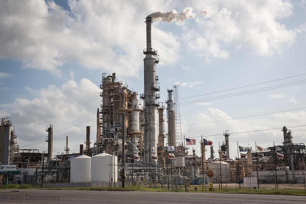 Valero Three Rivers Refinery in Three Rivers Texas, at the southern most end of the Eagle Ford Shale region.