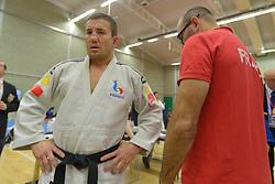 Behind The Scenes, Cyril Jonard, -81kg, FRA, 2016 Visually Impaired Judo Grandprix, British Judo, Birmingham, England