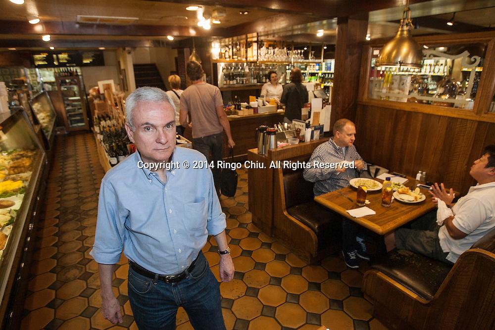 Jeff Kavin, owner of Greenblatt's Delicatessen in West Hollywood. (Photo by Ringo Chiu/PHOTOFORMULA.com)
