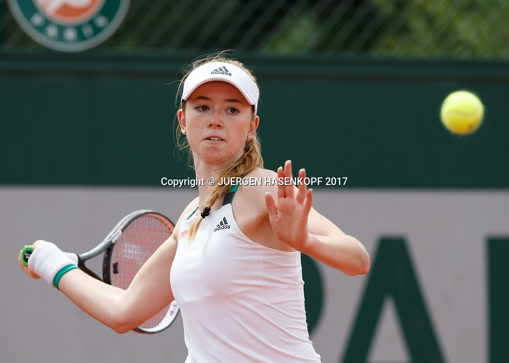 SIMONA WALTERT (SUI), Junior Girls<br /> <br /> Tennis - French Open 2017 - Grand Slam / ATP / WTA / ITF -  Roland Garros - Paris -  - France  - 4 June 2017.