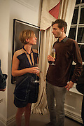 FRANCIS UPRITCHARD; DANIEL SINSEL, Valeria Napoleone hosts a dinner at her apartment e to celebrate the publication of her book  Valeria Napoleone's Catalogue of Exquisite Recipes. Palace Green. Kensington. London. 28 September 2012.