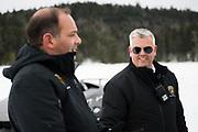 Lamborghini Winter Accademia program, Lac Sacacomie Quebec. Chris Ward