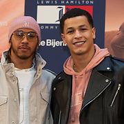 NLD/Amsterdam/20200229 - Lewis Hamilton lanceert de kledinglijn TommyXLewis, Lewis Hamilton en ..........