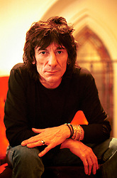 "UK ENGLAND LONDON 10DEC01 - Rolling Stone Ronnie Wood during portrait session promiting his new solo album, ""Not for Beginners"". He will be playing a gig with his son Jesse and Guns 'n Roses guitarrist Slash...jre/Photo by Jiri Rezac..© Jiri Rezac 2001..Contact: +44 (0) 7050 110 417.Mobile:  +44 (0) 7801 337 683.Office:  +44 (0) 20 8968 9635..Email:   jiri@jirirezac.com.Web:     www.jirirezac.com"