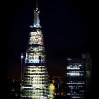 The Shard, designed by Renzo Piano at London Bridge, London.