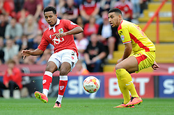 Bristol City's Korey Smith - Photo mandatory by-line: Dougie Allward/JMP - Mobile: 07966 386802 - 27/09/2014 - SPORT - Football - Bristol - Ashton Gate - Bristol City v MK Dons - Sky Bet League One