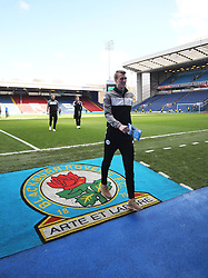 Dan Burn of Wigan Athletic inspects the pitch before the match - Mandatory by-line: Jack Phillips/JMP - 04/03/2017 - FOOTBALL - Ewood Park - Blackburn, England - Blackburn Rovers v Wigan Athletic - Football League Championship