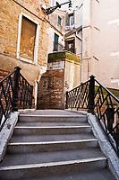 bridge in the beautiful city of venice in italy