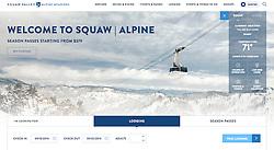 Longstanding Homepage on Squaw Alpine Website