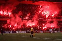 Fotball<br /> Frankrike 2004/05<br /> Paris Saint Germain v Metz<br /> 18. desember 2004<br /> Foto: Digitalsport<br /> NORWAY ONLY<br /> PSG FANS 'S CONTESTATION AGAINST THE PSG DIRECTION *** Local Caption *** 40001465
