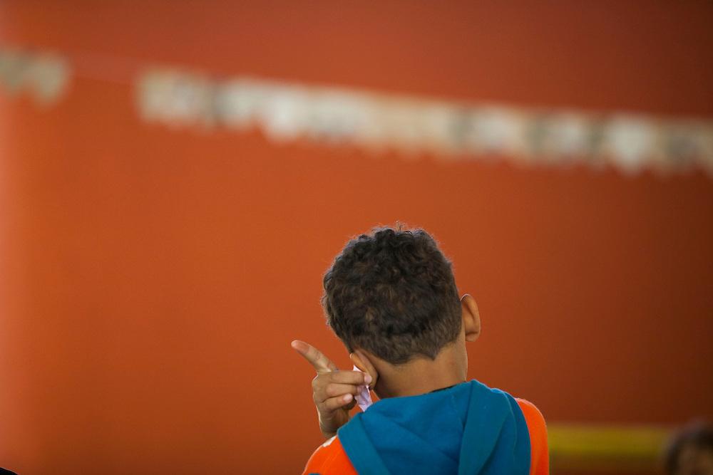 Belo Horizonte_MG, Brasil...Projeto Querubins, um dos projetos apoiados pelo Instituto Ayrton Senna. ..The Querubins project,maintained by the Ayrton Senna Institute...Foto: LEO DRUMOND / NITRO