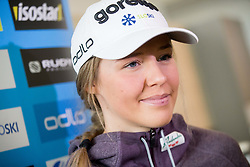 Anamarija Lampic during press conference of Slovenian Nordic Ski team before new season 2017/18, on November 14, 2017 in Gorenje, Ljubljana - Crnuce, Slovenia. Photo by Vid Ponikvar / Sportida