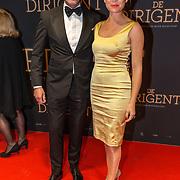 NLD/Amsterdam/20181023 -  Film premiere De Dirigent, Janna Fassaert en Erik van der Burg