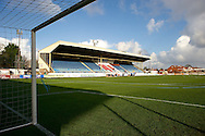 General view of the stadium pictured ahead of the The FA Cup match at Haig Avenue, Southport<br /> Picture by Ian Wadkins/Focus Images Ltd +44 7877 568959<br /> 07/12/2014