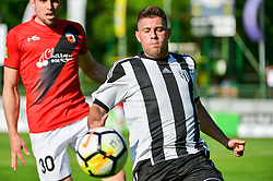 Amadej Marosa of ND Mura during football match between ND Mura and ND Tabor Sezana in Round #28 of 2.SNL 2017/18 on May 13, 2018 in Mestni stadion Fazanerija , Murska Sobota , Slovenia. Photo by Mario Horvat / Sportida