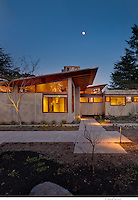 Contemporary LEED Residential Home 770 Los Palos by Faulkner Architects, Alderson Construction and Hypdae, Lafayette, CA