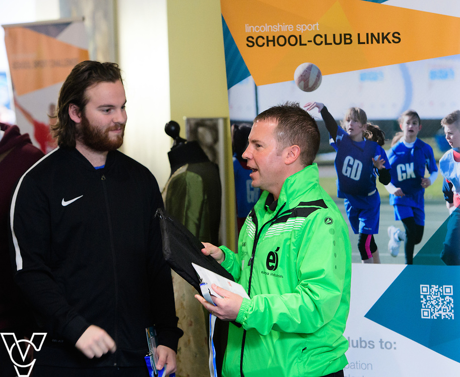 Lincolnshire Sport's Lincolnshire PE and School Sport Conference 2017 held at Bishop Grosseteste University, Lincoln.<br /> <br /> Picture: Chris Vaughan Photography for Lincolnshire Sport<br /> Date: March 24, 2017