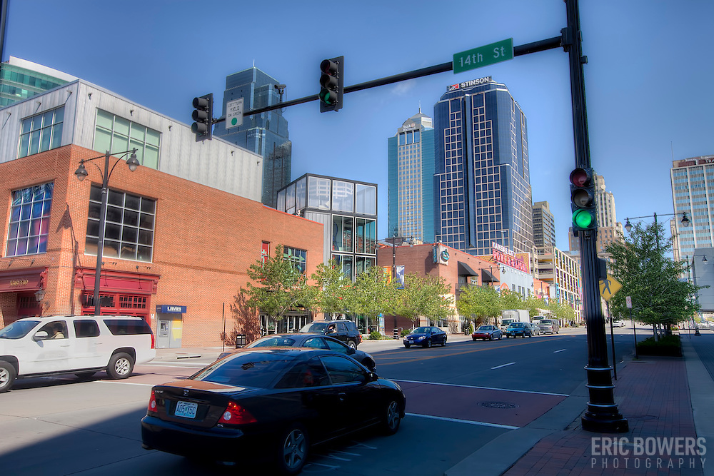 14th and Grand Avenue, downtown Kansas City, Missouri. Taken for Rhythm Engineering.