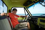 Emirates Team New Zealand tactician, Ray Davies. Portrait for Sailing World Magazine. 3/4/2011