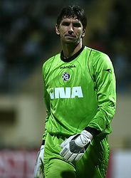 Goalkeeper of Dinamo Zagreb Tomislav Butina at 1st football game of 2nd Qualifying Round for UEFA Champions league between NK Domzale vs HNK Dinamo Zagreb, on July 30, 2008, in Domzale, Slovenia. Dinamo won 3:0. (Photo by Vid Ponikvar / Sportal Images)